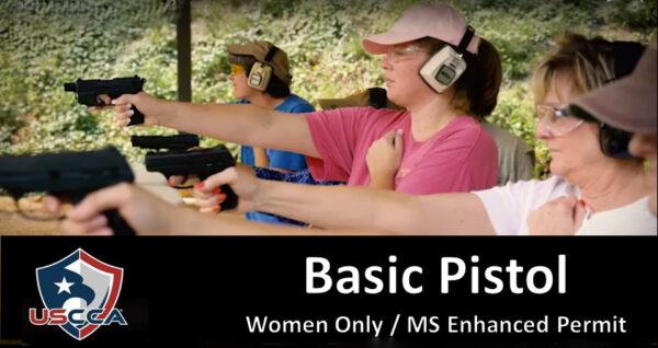 Basic Pistol MEP - Women Only