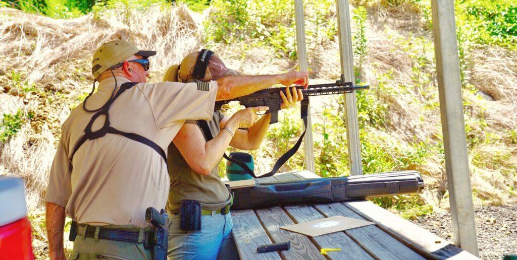 Alumni Rifle Range - RSO assistance