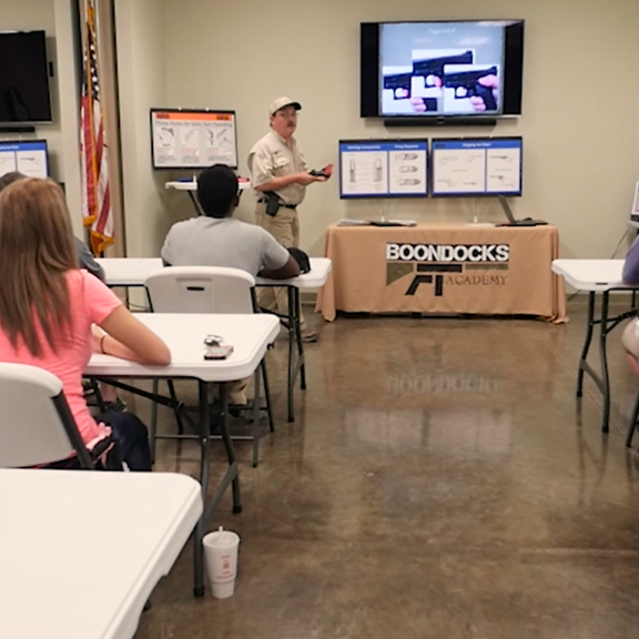 Boondocks Classroom with instructor